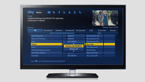 Sky update brings much-needed revamp to Sky+HD software | Trusted