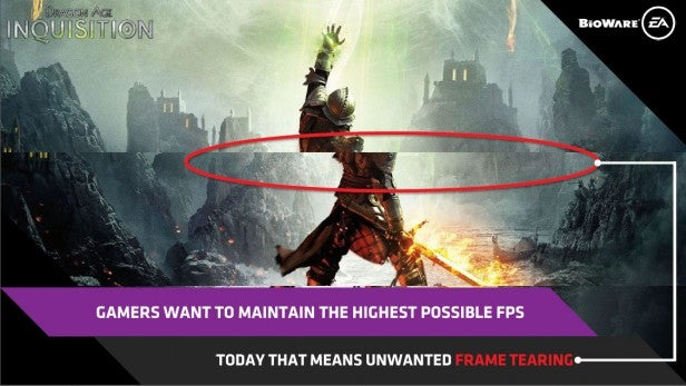 AMD FreeSync Tearing
