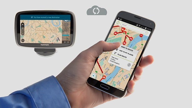 tomtom mydrive lets you control sat nav from your smartphone