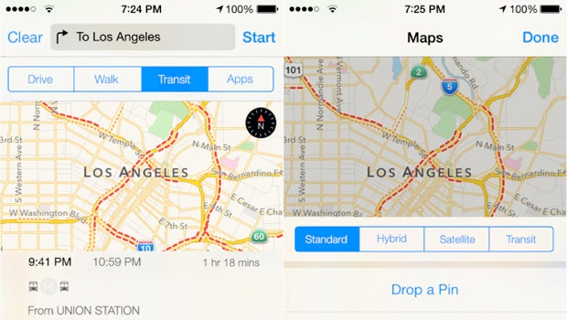 Apple Maps Transit leak