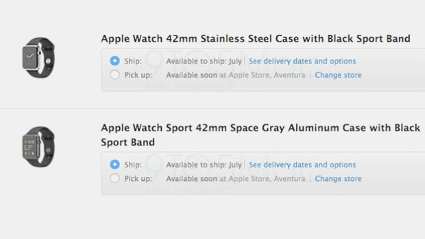 Apple Watch Pick Up