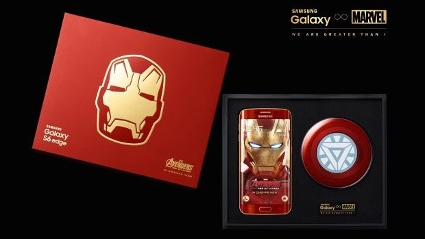 Samsung galaxy s6 edge iron man limited edition launched.
