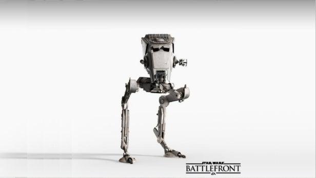 Star Wars: Battlefront AT-STs