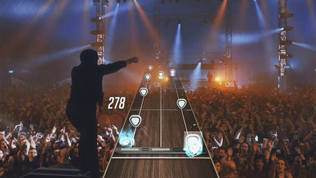 Guitar Hero Live Interface