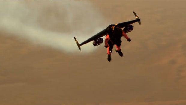 Jetman Dubai jetpack