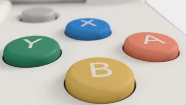 Nintendo 3DS controls