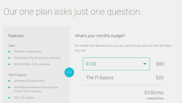 Project Fi sign up
