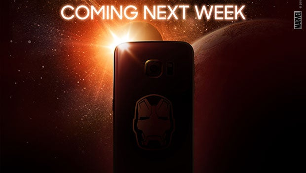 Iron Man Samsung Galaxy S6 Edge