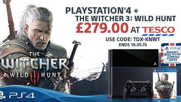 ps4 price slashed to 279 comes bundled with witcher 3 trusted reviews. Black Bedroom Furniture Sets. Home Design Ideas