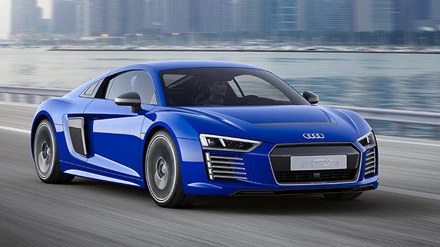 Audi R8 E Tron Is The Self Driving Electric Supercar Of Future