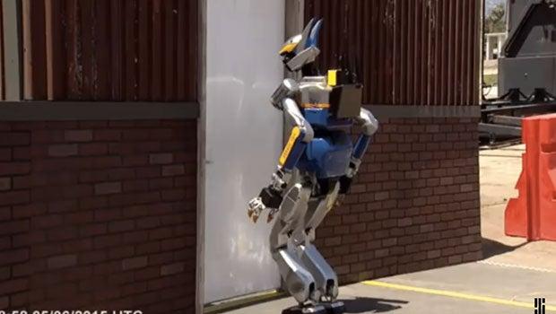 DARPA Robot Fail