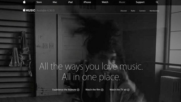 Apple Music is marketing artists from labels it hasn't