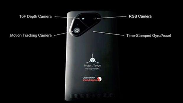 Qualcomm Project Tango phone