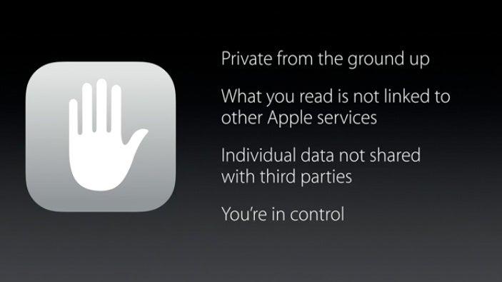 Apple data privacy
