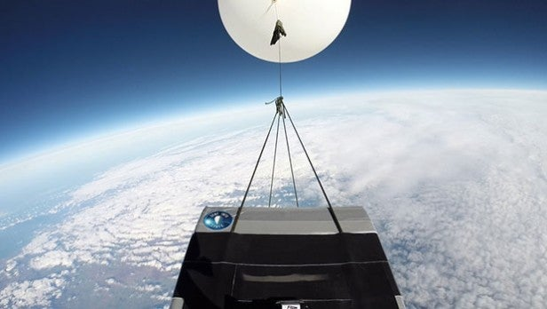 how to send information into space