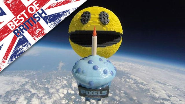 Pac man in space