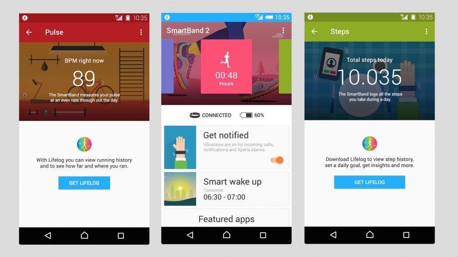 SmartBand 2 app