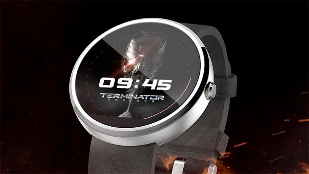 Terminator Android Wear