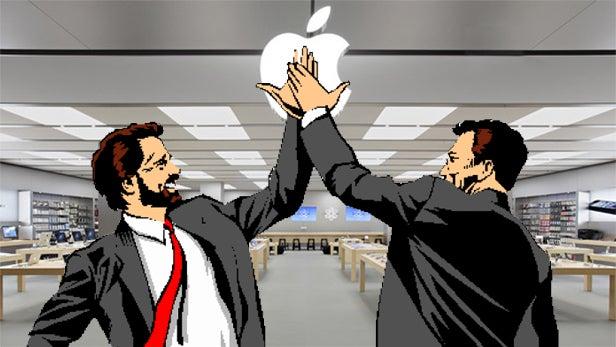 apple high five