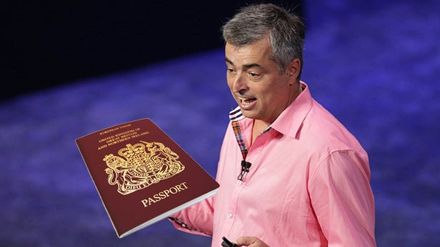 Eddy Cue passport