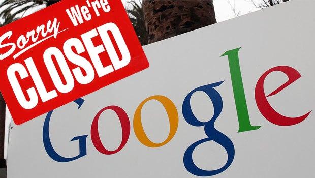 Google closed