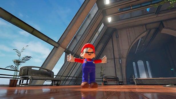 Mario Nintendo NX