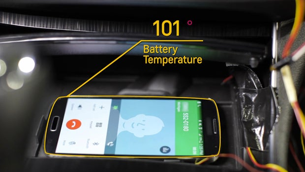 Chevy active phone cooling