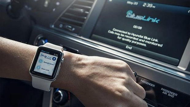 Hyundai Apple Watch