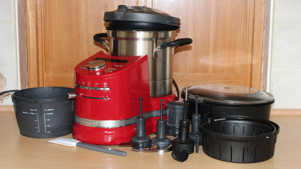 kitchenaid artisan cook processor review trusted reviews. Black Bedroom Furniture Sets. Home Design Ideas
