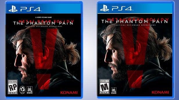 Metal Gear Solid 5 Box art