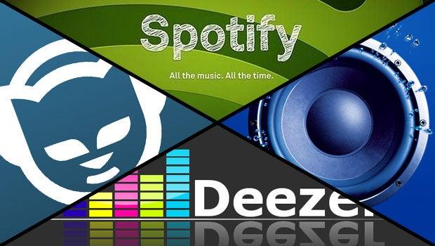Streaming music