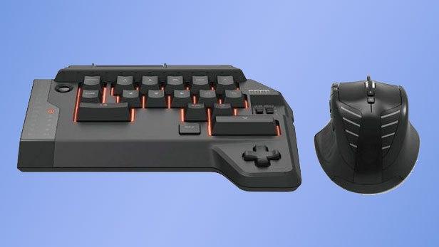 PS4 keyboard