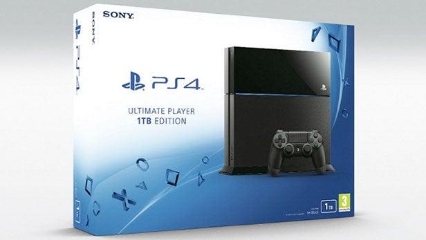 New PS4 1TB