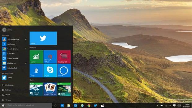 Windows 10 twitter