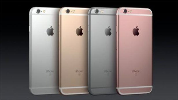 iPhone 6S colours