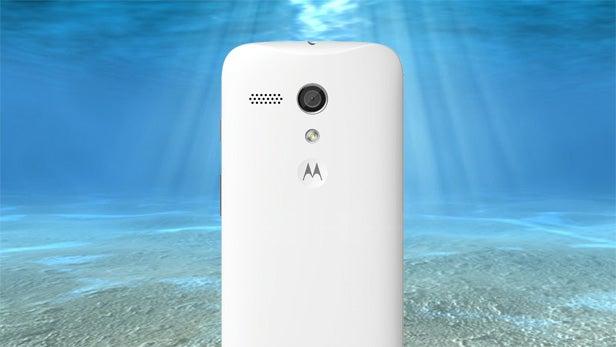 moto g underwater