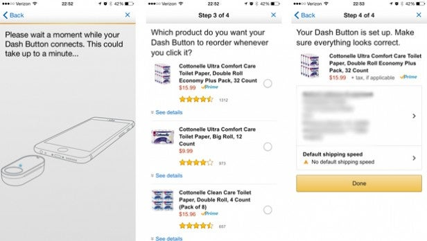 Amazon Dash Buttons Set up