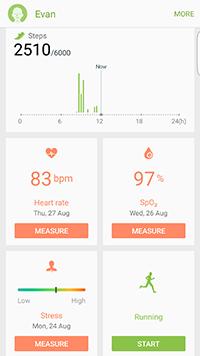 S6 Edge+ S Health