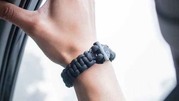 bomber paracord survival bracelet