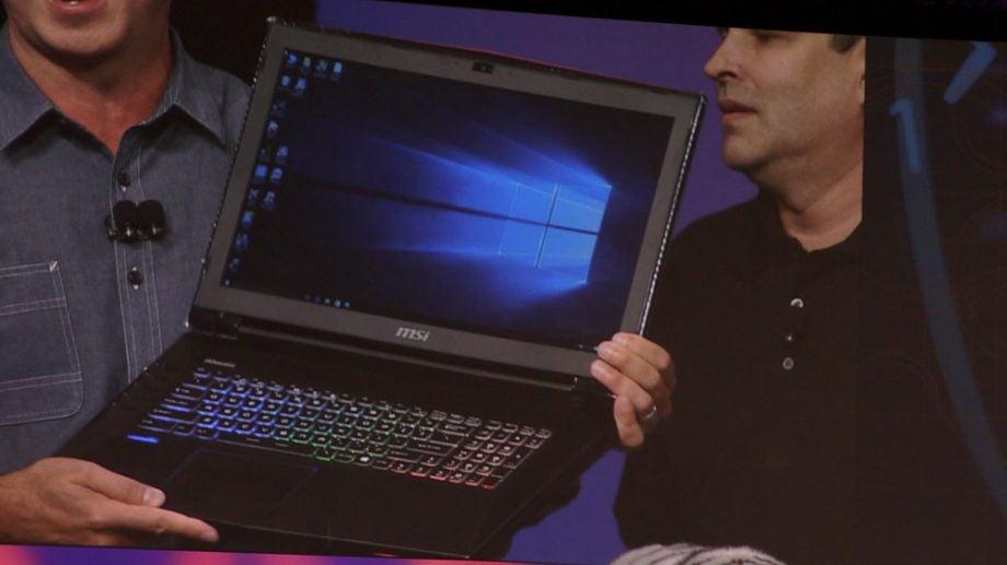 Intel Skylake K laptop