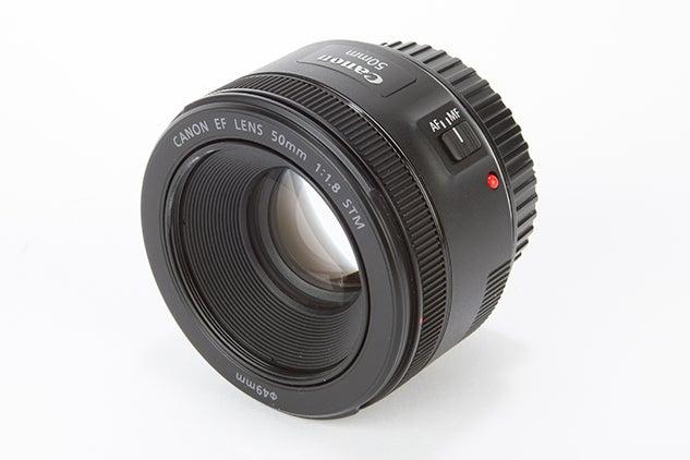 Best canon lenses: Canon EF 50mm f/1.8 STM