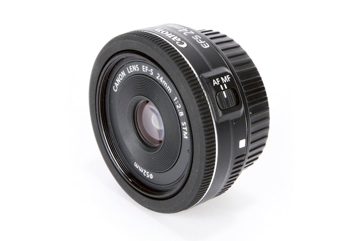 Best canon lenses: Canon EF-S 24mm f/2.8 STM