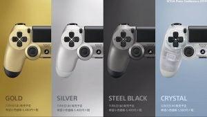 DualShock 4 Japan colours