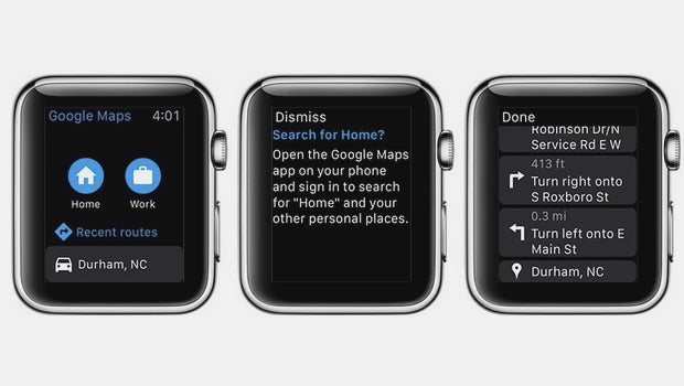 Google Maps Is Now Available On The Apple Watch Trusted Reviews