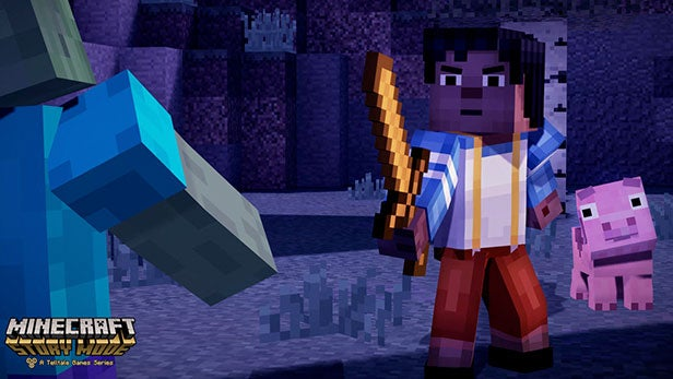 Minecraft story mdoe