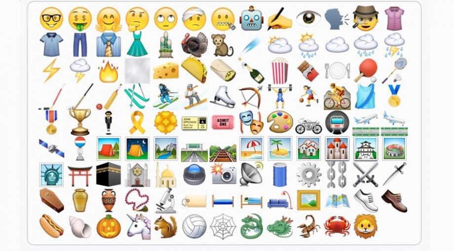 emoji ios 9.1