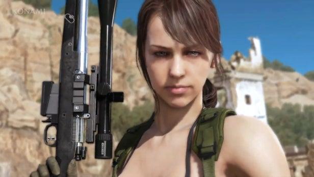 Metal Gear Solid 5 Quiet bug could corrupt your save, says Konami