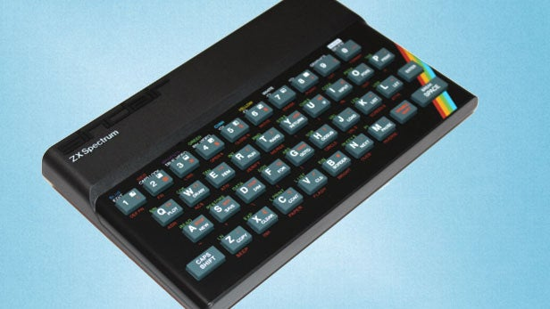 Recreated Sinclair ZX Spectrum