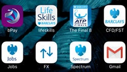 Barclays apps