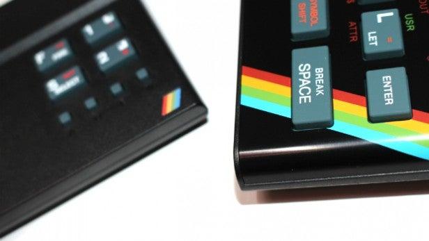 Recreated ZX Spectrum vs ZX Spectrum Vega 7